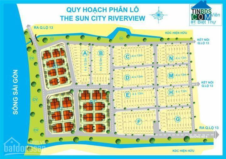 Ảnh dự án The Sun City Riverview